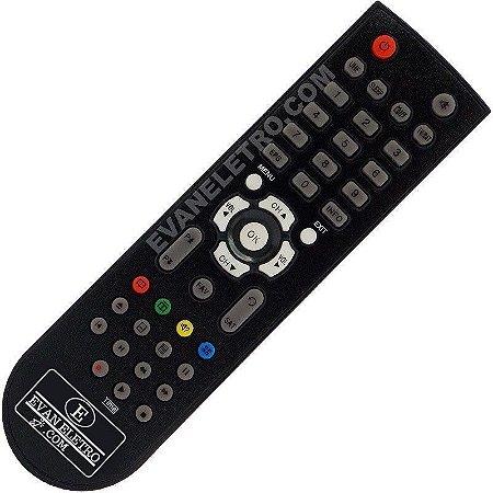Controle Remoto Receptor tocombox PFC HD VIP