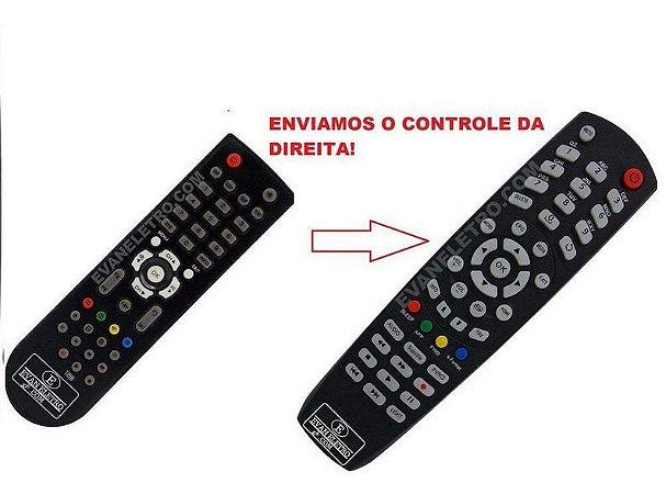 Controle Remoto Receptor Azamérica F36
