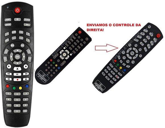 Controle Remoto Receptor Azamérica S925 MiNi