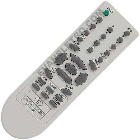Controle Remoto TV LG 6710V00090H / 6710V00090N / 6710V00088Q / 6710V00076B / RP-29CC25 / RP-29CC2RL / CP-14K40 / CP-14K85 / CP-20K40 / CP-29K30A / CP-29K35A / CP-29Q54A / RP-14CB25A / RP-21FB32 / RP-21FD10 / RP-21FD15 / RP-29FS4RL / ETC
