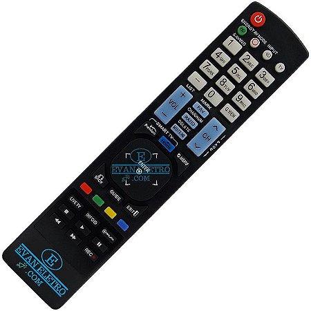 Controle Remoto TV LCD / LED / Plasma LG AKB73275616  Smart TV