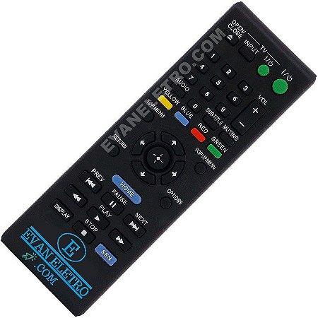 Controle Remoto Blu-Ray Sony RMT-B120A / BDP-S1100 / BDP-S190 / BDP-S3100 / BDP-S390 / BDP-S390W / BDP-S490 / BDP-S5110 / BDP-S590
