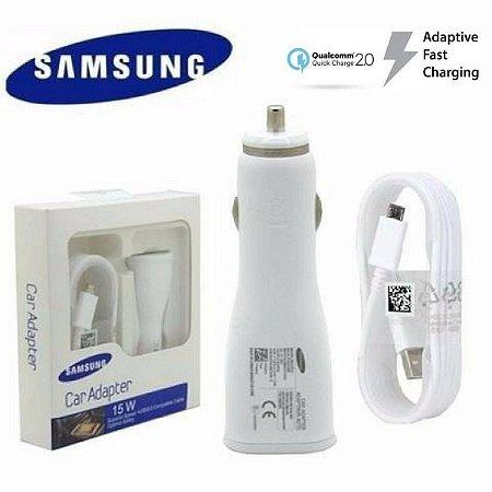 Carregador  Veicular Turbo Samsung original