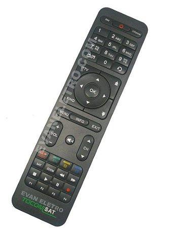 Controle Remoto Receptor Tocomsat Duplo HD / Duplo HD3