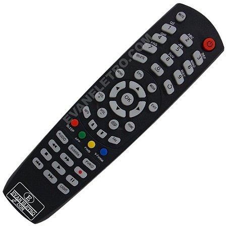 Controle Remoto receptor Audisat R4 4K