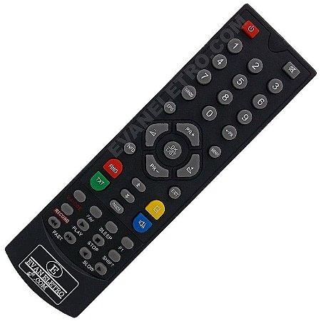 Controle Remoto Para Receptor Azamérica S806