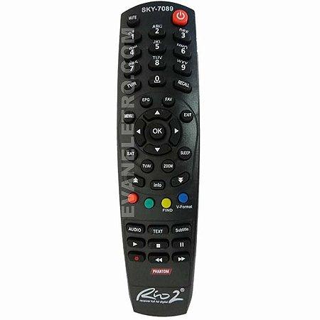 Controle Remoto Receptor SKY-7089 / FBG-7089