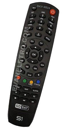controle remoto para receptor sky-9034 / sky-7089