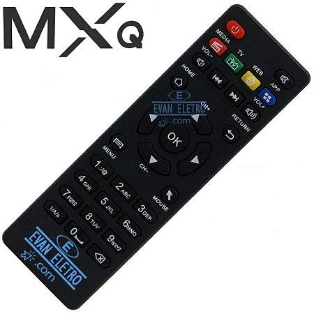 Controle Remoto Receptor TV MXQ Pro 4K
