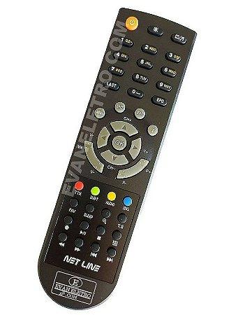 Controle Remoto Receptor Net Line X99 HD 100% Original