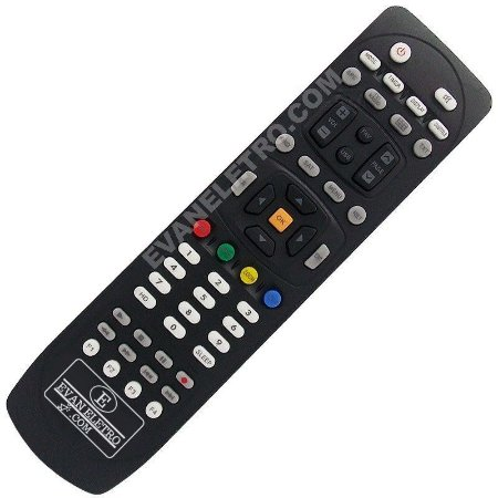 Controle Remoto Receptor Newsat Lion HD