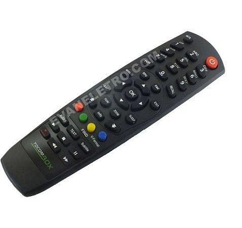 Controle Remoto Para Receptor Tocombox ZEUS HD IPTV