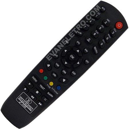 Controle Remoto Receptor Tocomsat Combate HD
