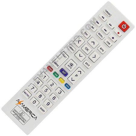 Controle Remoto Receptor Azamérica S1009+ Plus