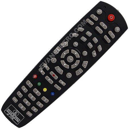 Controle Remoto Para Receptor Tocomsat Duo TS550