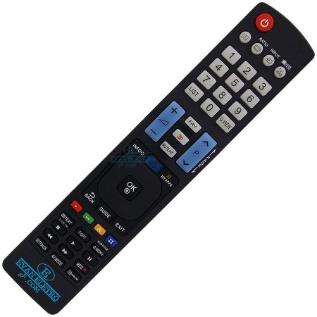 Controle Remoto TV LCD / LED LG AKB73756504 (Smart TV)