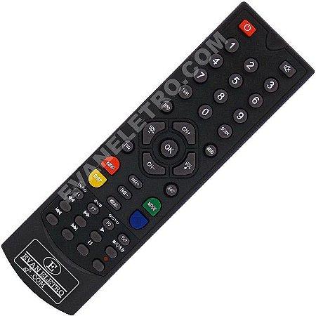Controle remoto para receptores Probox 190