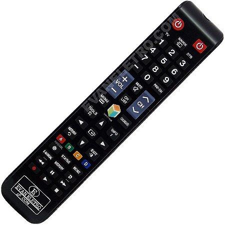 Controle Remoto Original TV LCD / LED Samsung AA59-00808A / BN98-04428A (Smart TV)