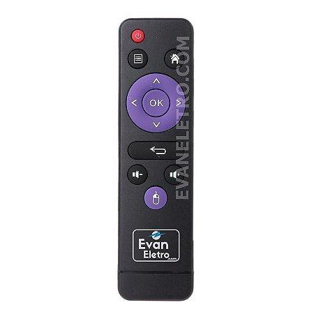 Controle remoto Para TV box A96X 4K Ultra HD / H96 Max 4K Ultra HD / Uau 4K Ultra HD / H96 Mini / Original