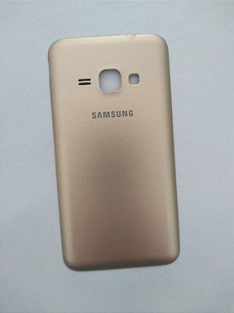 tampa traseira cor dourada  para o Samsung J1  2016 J120