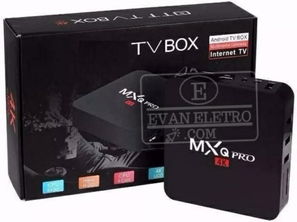 Receptor TV BOX - MXQ PRÓ 4K - ANDROID 7.1 - 2/16 GB R/M