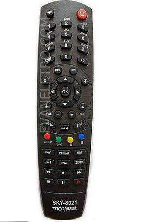 Controle remoto para receptor sky-8021 / FBG-7003 / FBG-8021
