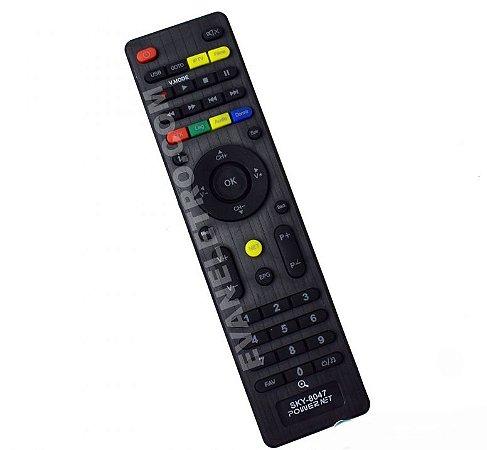 Controle remoto para Receptor SKY-8047 / FBG-8047