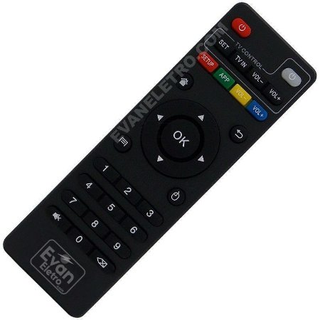 Controle Remoto Smart TV Box Infokit TVB-906X / 100% Original