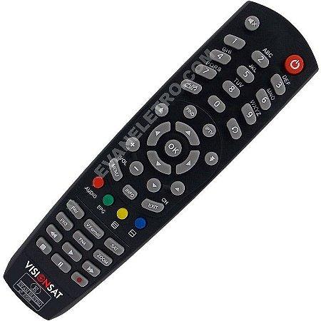 Controle Remoto para Receptor Visionsat Space HD