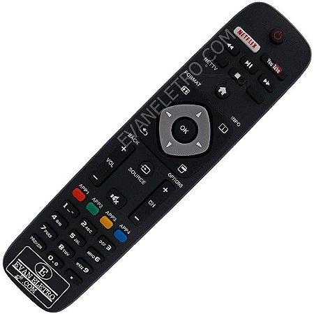 Controle Remoto TV LED Philips 32PFL4901 com Youtube / Netflix