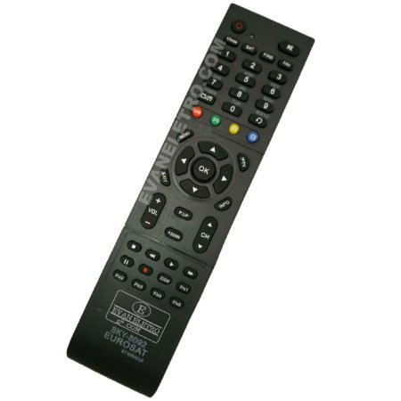 Controle remoto para receptor sky-8092