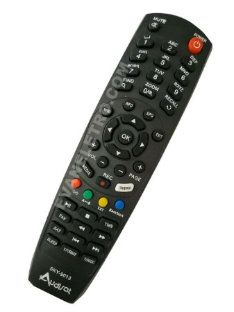Controle remoto para receptor Audisat SKY-9013