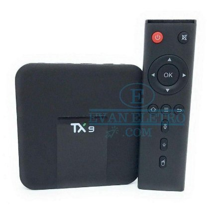 TV box TX9 4K 4GB RAM 64GB - Ott Transforme sua tv em Smart