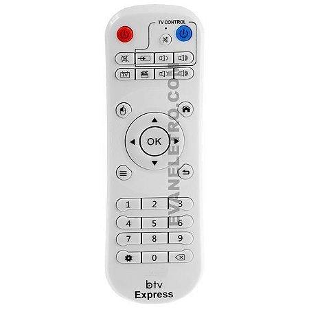 Controle remoto para receptor BTV Express  / E9