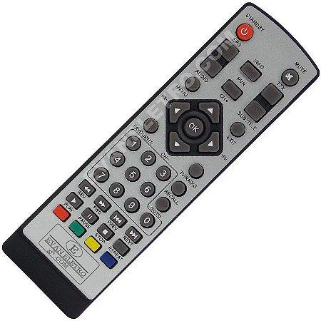 Controle Remoto Conversor Digital Vicini VC-9001