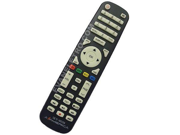 Controle remoto para Receptor SKY-9039