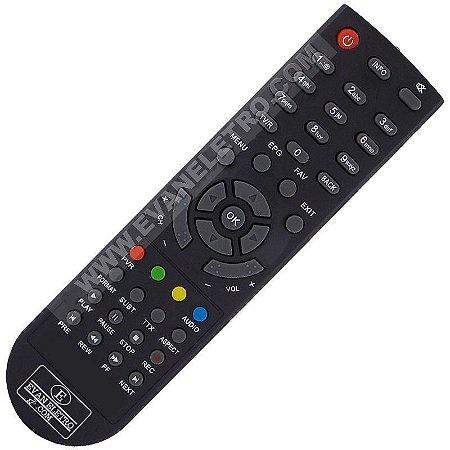 Controle Remoto Receptor Visiontec VT4300 Anadig HD / VT1000 HD
