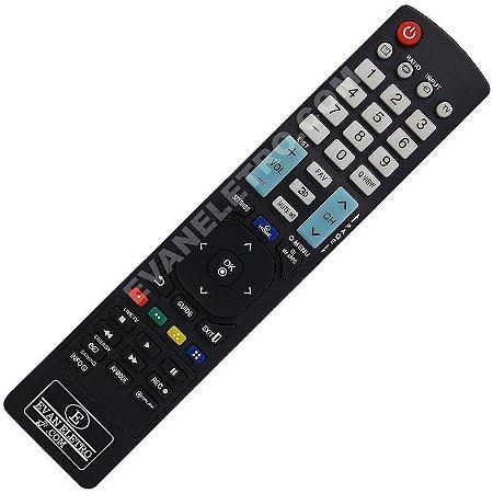 Controle Remoto TV LCD / LED LG AKB73615319 / 42LM6200 / 47LM6200 / 55LM6200 / 65LM6200 / 42LM6210 / 47LM6210 / 55LM6210 / 42lb6200 / ETC..