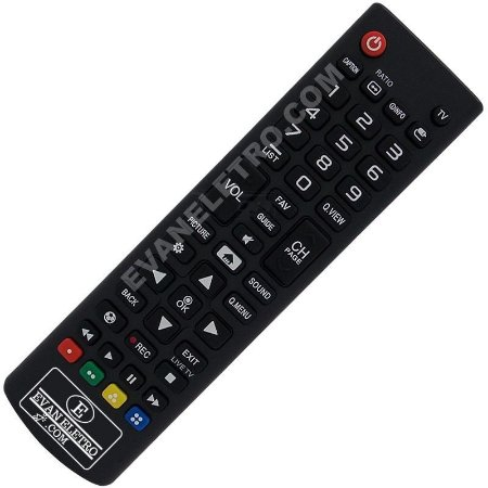 Controle Remoto TV LCD / LED LG AKB74915321 / 32LJ520B / 43LJ5100 / 49LJ5100 (Smart TV)