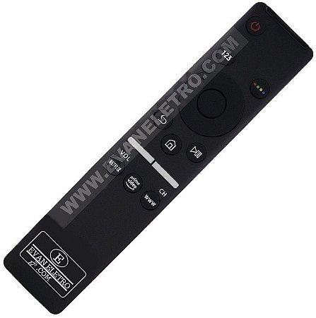 Controle Remoto Smart TV LED Samsung TU7000 / UN55RU7100GXZD com Netflix / Prime Vídeo / Internet