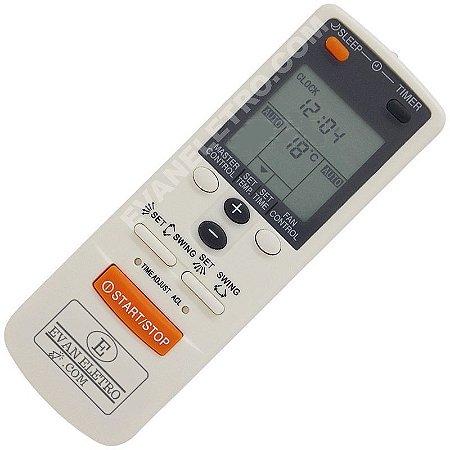 Controle Remoto Ar Condicionado Fujitsu AR-JW2 / AR-JW17 / AR-JW27 / AR-JW30
