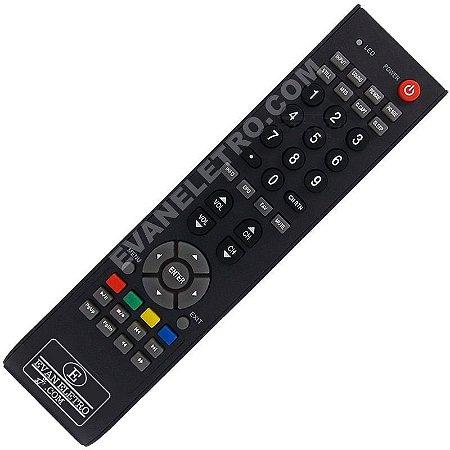 Controle Remoto TV LCD / LED SEMP Toshiba LC2655WDA / LC3255WDA / LC4055FDA / LC3246WDA