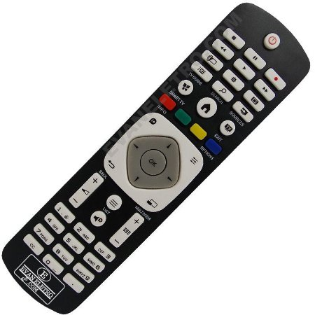 Controle Remoto TV LED Philips 42PFG5909 / 42PFG6809 / 47PFG5909 / 47PFG6809 / 55PFG6809