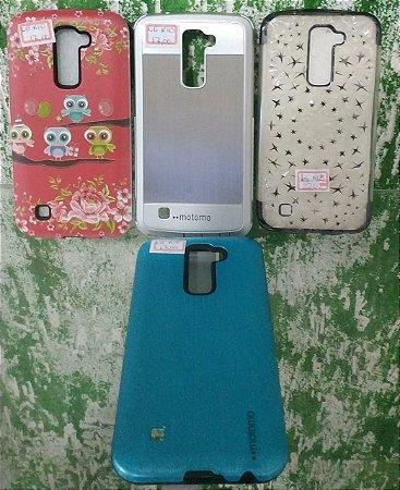 1 Capa case capinha LG K10 Display 5.3