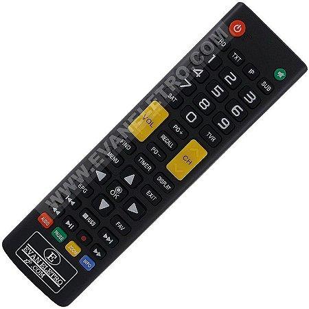 Controle Remoto para Receptor Freesky Max S