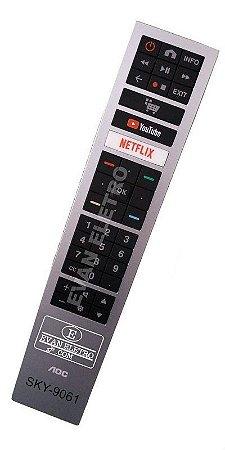 Controle Remoto Para TV SKY-9061