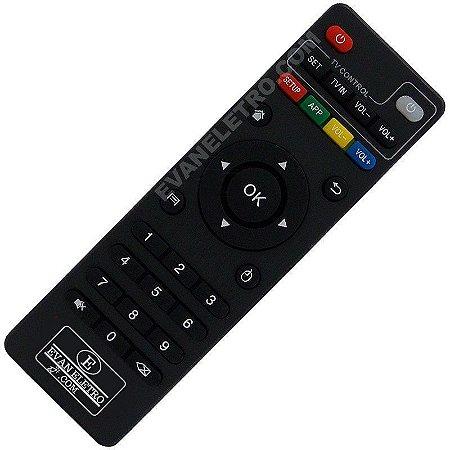 Controle Remoto Para Receptor TV Box HTV A8