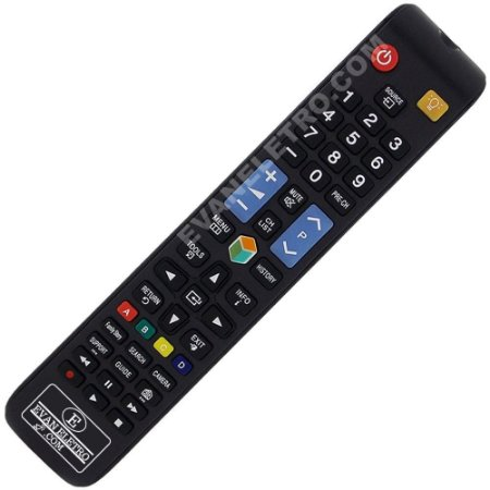 Controle Remoto TV LED Samsung AA59-00637A (Smart TV)