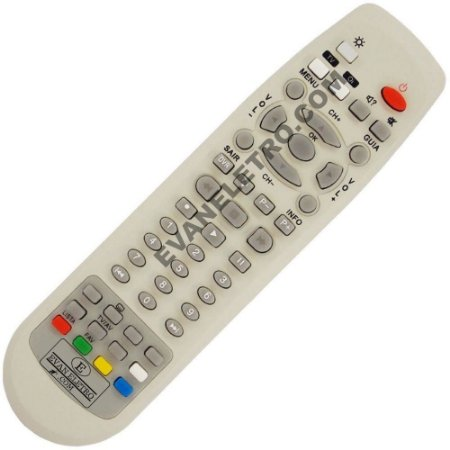 Controle Remoto Receptor Oi TV ECO / ETR S33 / C01245 / Elsys