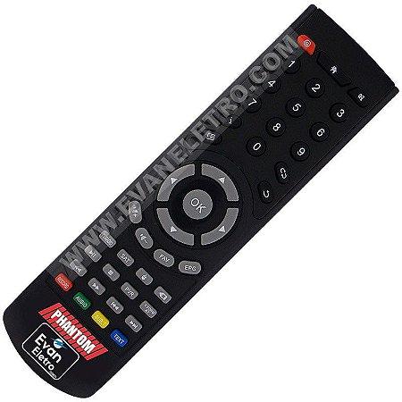 Controle Remoto Para Receptor Phantom Cinema 4K